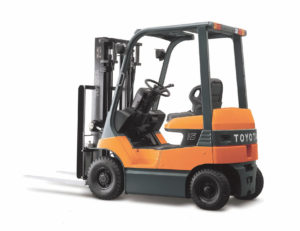 Toyota- electrical forklift 7FB 1 to 3.5 ton- lift center